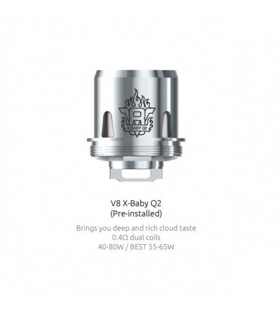 Résistances Smok V8 X-Baby