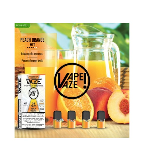 Cartouche Peach Orange - Pod Vaze