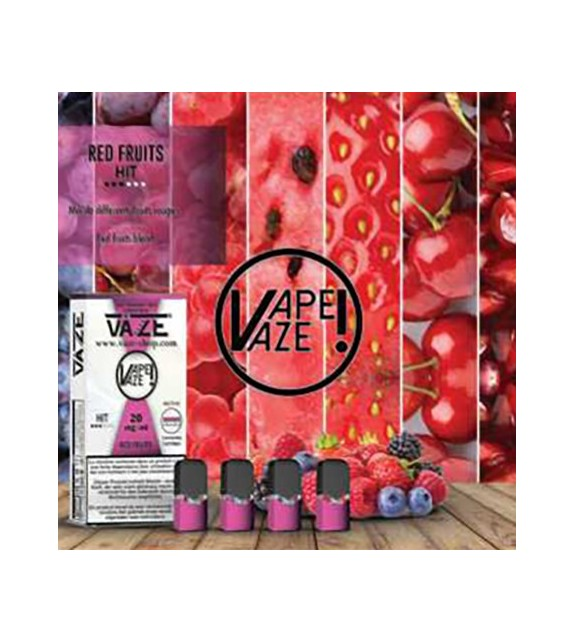 Cartouche Red Fruits - Pod Vaze